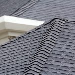 black shingle roof in San Diego